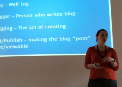 The Digienable #digiblog workshop