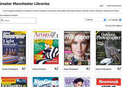 Oldham Libraries Magazines