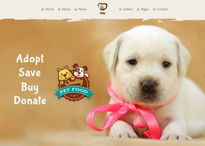 5 WordPress pet website templates